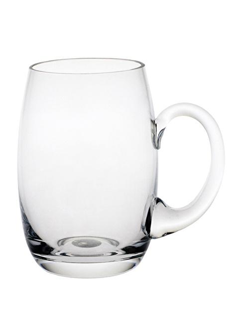 Paşabahçe El İmalatı Kulplu Bira Bardağı Renksiz